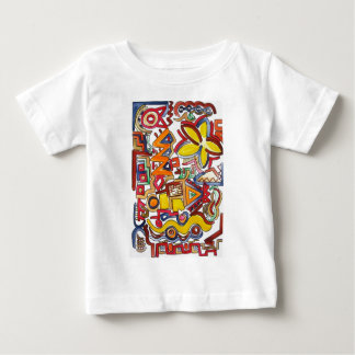 Road Trip - Abstract Art Baby T-Shirt