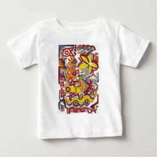 Road Trip - Abstract Art Baby T-Shirt