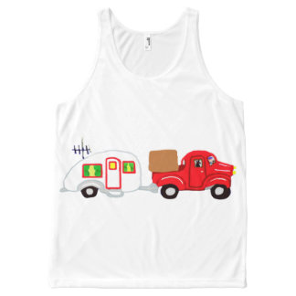 Road Trip All-Over-Print Tank Top