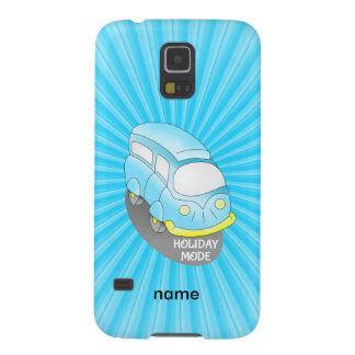 Road Trip Blue Van Case For Galaxy S5