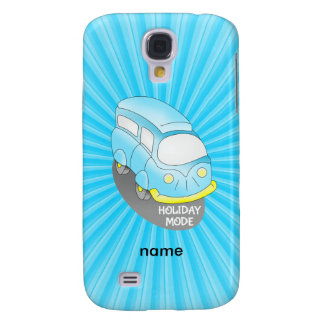 Road Trip Blue Van Samsung S4 Case