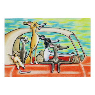 Road Trip by Andie Poster