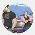Road Trip by Joe Phillips Classic Round Sticker