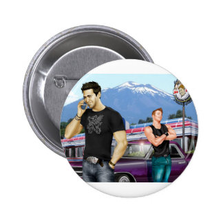 Road Trip by Joe Phillips Pinback Buttons