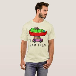 Road Trip Camping Canoeing Hiking T-Shirt
