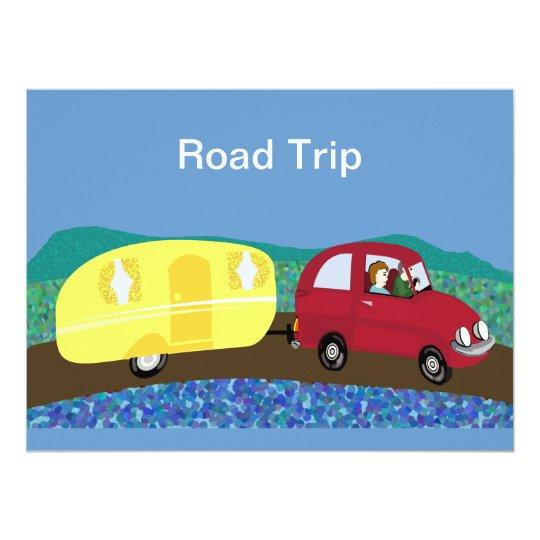 Road trip card