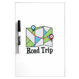 Road Trip Dry-Erase Whiteboard