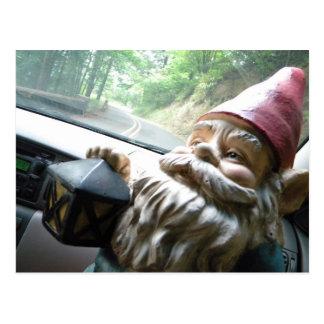 Road Trip Gnome Postcards