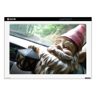 Road Trip Gnome Skin For Laptop