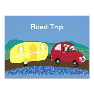 Road trip custom invite