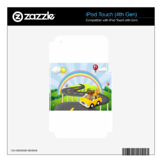 Road trip iPod touch 4G skins