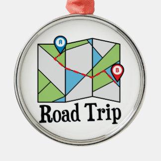 Road Trip Metal Ornament