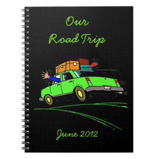 Road Trip Planner Journal Notebook