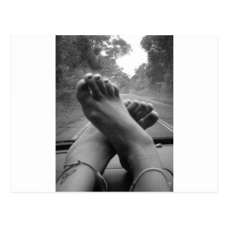 Road Trip Postcard