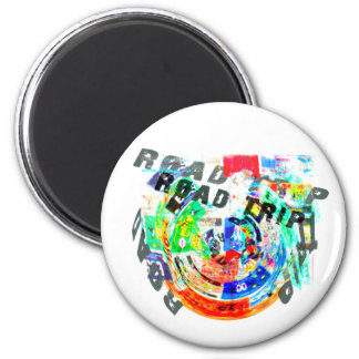 ROAD TRIP PRODUCTS 2 INCH ROUND MAGNET
