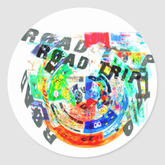 ROAD TRIP PRODUCTS CLASSIC ROUND STICKER