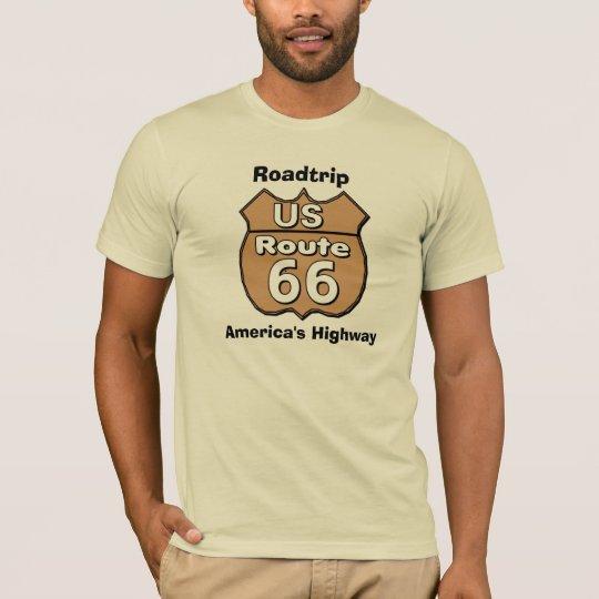 Route 66 T Shirts Men