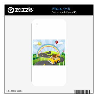 Road trip skins for the iPhone 4