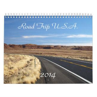 Road Trip U.S.A. 2014 Calendar