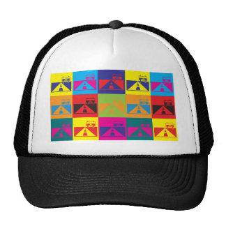 Road Trips Pop Art Trucker Hat