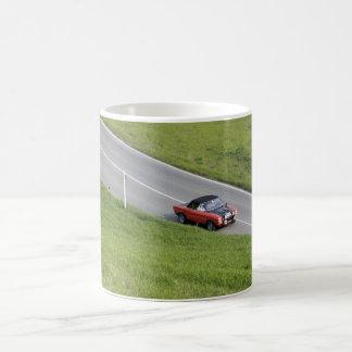 Road trips - sport cars coffee mug