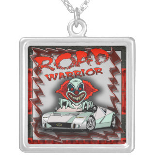 Road Warrior Evil Clown Necklace