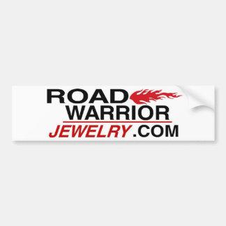 Road Warrior Jewelry Bumper Sticker
