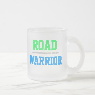 ROAD WARRIOR mug (frosted glass)