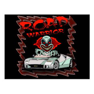 Road Warrior T-shirts and Gifts For Him Postcard