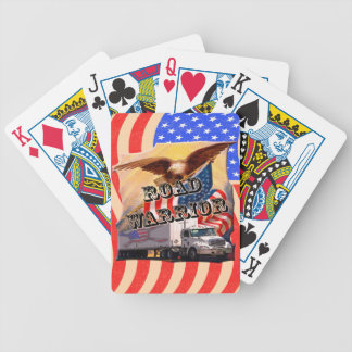Road Warrior Trucker Playing Cards