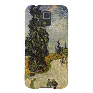 Road with Cypresses, 1890 Galaxy S5 Cover