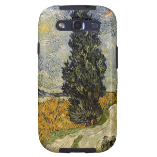 Road with Cypresses, 1890 Samsung Galaxy SIII Case