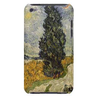 Road with Cypresses, 1890 iPod Touch Case
