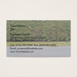 Road with hedges business card