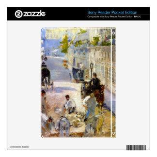Road workers, rue de Berne by Edouard Manet Sony Reader Skin
