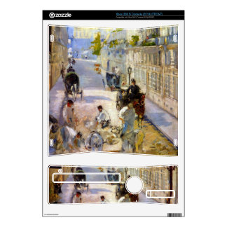 Road workers, rue de Berne by Edouard Manet Decals For Xbox 360 S
