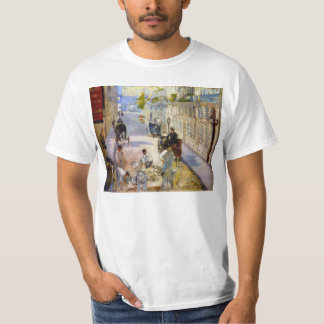 Road workers, rue de Berne by Edouard Manet T-Shirt