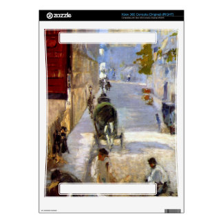 Road workers, rue de Berne (detail) by Manet Xbox 360 Decals