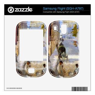 Road workers, rue de Berne (detail) by Manet Skin For Samsung Flight