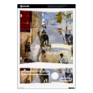 Road workers, rue de Berne (detail) by Manet Skin For Xbox 360 S