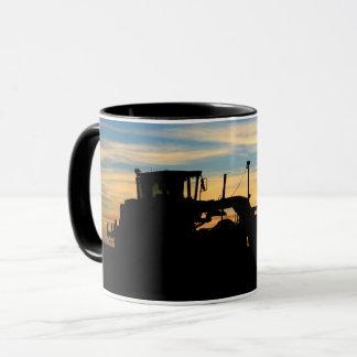Roadgrader Sunset Silhouette Mug