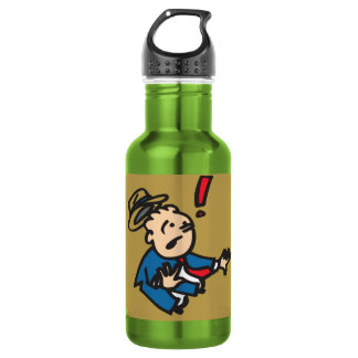 ROADHOUSETEES NO DEAL STAINLESS STEEL WATER BOTTLE