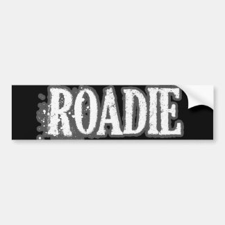 Roadie Bumper Sticker