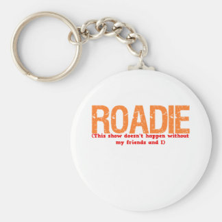 Roadie Description Keychain