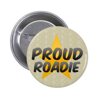 Roadie orgulloso pin