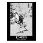 Roadies: They're Back There Postcard