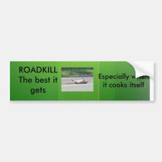 Roadkill bumpersticker car bumper sticker