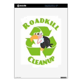 Roadkill Cleanup Buzzard iPad 2 Skin