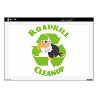 Roadkill Cleanup Buzzard Laptop Skin