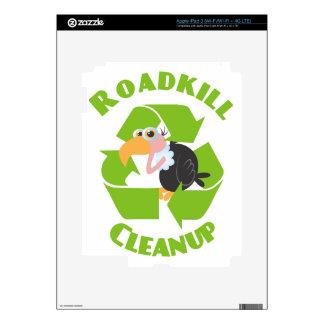 Roadkill Cleanup Buzzard Skin For iPad 3